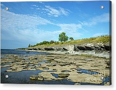 Acrylic Print featuring the photograph Limestone Coast Patterns by Kennerth and Birgitta Kullman
