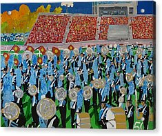Lincoln Band Acrylic Print