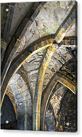 Lincoln Castle England Acrylic Print by Tom  Wray