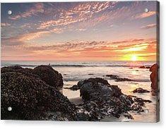 Lincoln City Beach Sunset - Oregon Coast Acrylic Print by Brian Harig