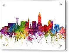 Lincoln Cityscape 06 Acrylic Print