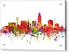 Lincoln Cityscape 08 Acrylic Print