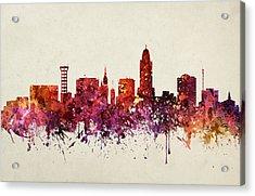 Lincoln Cityscape 09 Acrylic Print