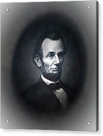 Lincoln Forever In Our Minds Eye Acrylic Print