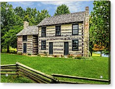 Lincoln Heritage House Elizabethtown Kentucky Acrylic Print by Frank J Benz
