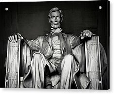 Lincoln Memorial Acrylic Print by Daniel Hagerman