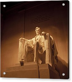 Lincoln Memorial Acrylic Print by Gene Sizemore