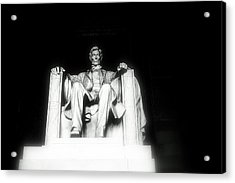 Lincoln Memorial  Acrylic Print by Kristina Randal