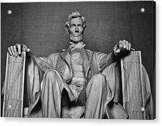 Lincoln Memorial Acrylic Print by Kyle Hanson