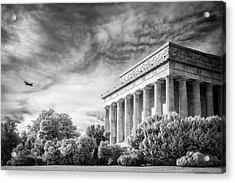 Lincoln Memorial Acrylic Print by Paul Seymour