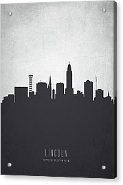 Lincoln Nebraska Cityscape 19 Acrylic Print