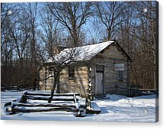 Lincoln's First Store Acrylic Print by Gregory Jeffries