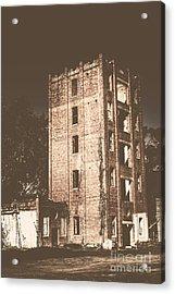 Lincolns Oakbank Brewery Acrylic Print