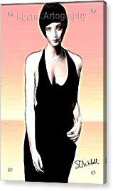 Linda Thorson Acrylic Print