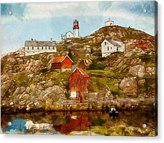 Lindesnes Lighthouse Acrylic Print