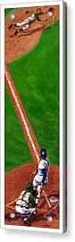 Line Drive Acrylic Print by Harry West
