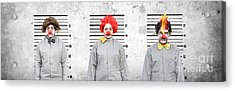 Line Up Of The Usual Suspects Acrylic Print by Jorgo Photography - Wall Art Gallery