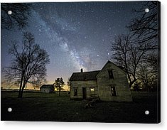 Acrylic Print featuring the photograph Linear by Aaron J Groen