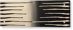 Linear Attraction Acrylic Print by Mark James