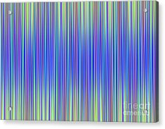 Acrylic Print featuring the digital art Lines 103 by Bruce Stanfield