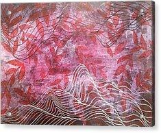 Lines 2 Acrylic Print by Adam Laughlin