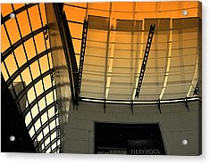 Acrylic Print featuring the photograph Lines Curves And Color by Laura DAddona