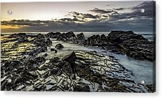 Lines Of Time Acrylic Print by Mark Lucey