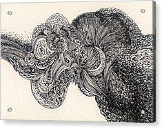 Lines - #ss13dw007 Acrylic Print by Satomi Sugimoto