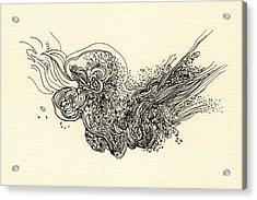 Lines - #ss13dw010 Acrylic Print by Satomi Sugimoto