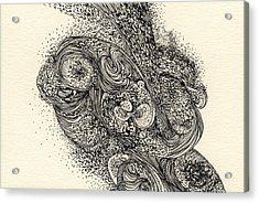 Lines - #ss13dw013 Acrylic Print by Satomi Sugimoto