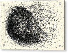 Lines - #ss13dw015 Acrylic Print by Satomi Sugimoto