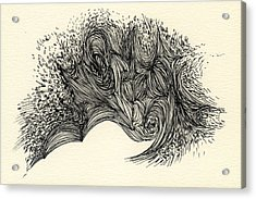 Lines - #ss13dw016 Acrylic Print by Satomi Sugimoto