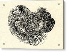 Lines - #ss13dw024 Acrylic Print by Satomi Sugimoto