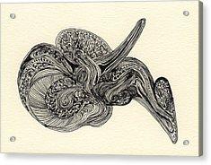 Lines - #ss13dw025 Acrylic Print by Satomi Sugimoto
