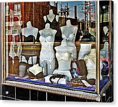 Lingerie Acrylic Print by Curtis Staiger