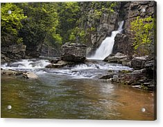 Linville Falls Basin Acrylic Print