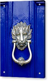 Lion Doorknocker Acrylic Print
