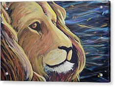 Lion Of Judah Acrylic Print