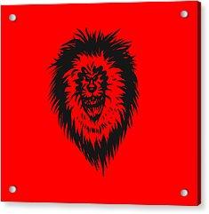 Lion Roar Acrylic Print