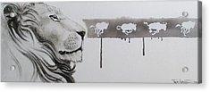 Lion Tears Acrylic Print
