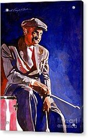 Lionel Hampton  Acrylic Print by David Lloyd Glover