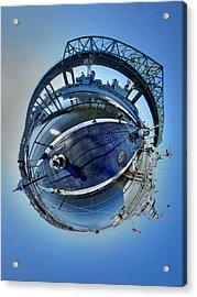 Lionfish Acrylic Print by Christopher Blake