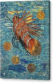 Lionfish Acrylic Print by Lynda K Boardman