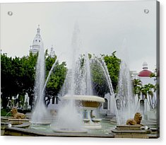 Lions Fountain, Ponce, Puerto Rico Acrylic Print