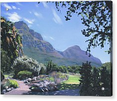 Kirstenbosch View Acrylic Print