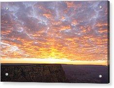 Lipon Point Sunset 3 - Grand Canyon National Park - Arizona Acrylic Print by Brian Harig