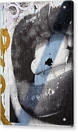 Lips Acrylic Print by Mark Weaver
