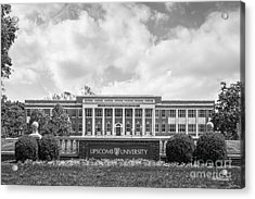 Lipscomb University Burton Health Sciences Center Acrylic Print by University Icons