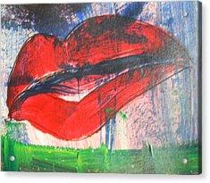 Lipstick - Sold Acrylic Print
