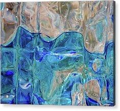 Liquid Abstract  #0060 Acrylic Print